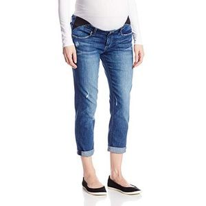 Paige maternity Jimmy crop jeans